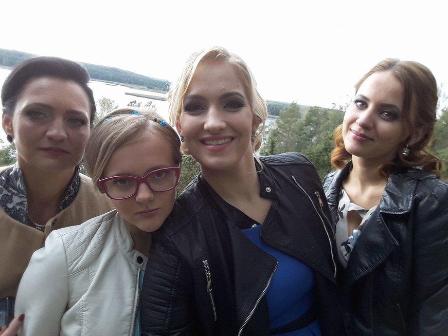 Ingrida su šeima