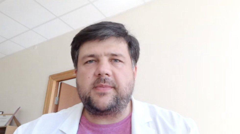 Molėtų ligoninės vadovas Vaidotas Grigas