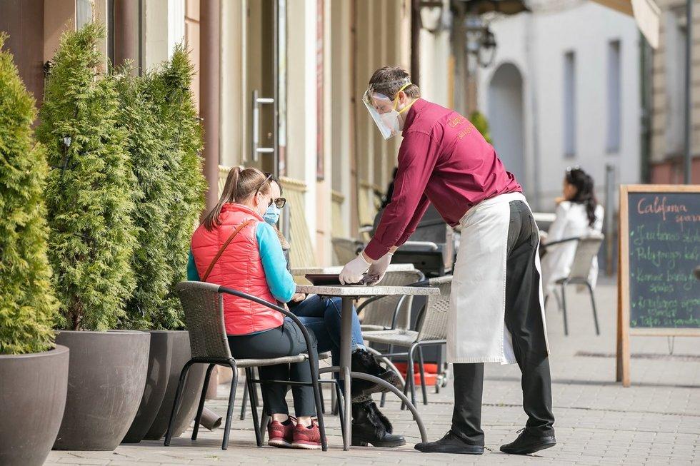 Lauko kavinė (Sauliaus Žiūros nuotr.)