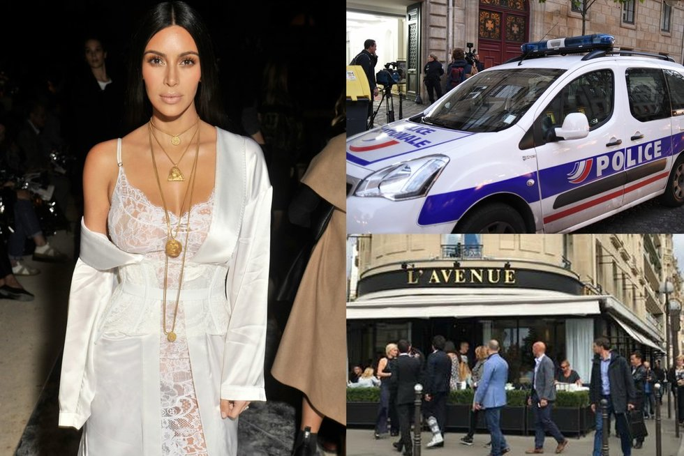Kim Kardashian apiplėšta Paryžiuje (nuotr. Vida Press)