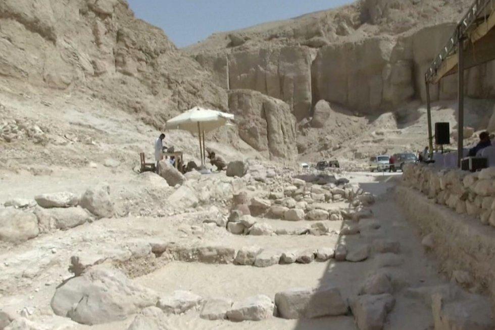Egipto atradimai (nuotr. stop kadras)