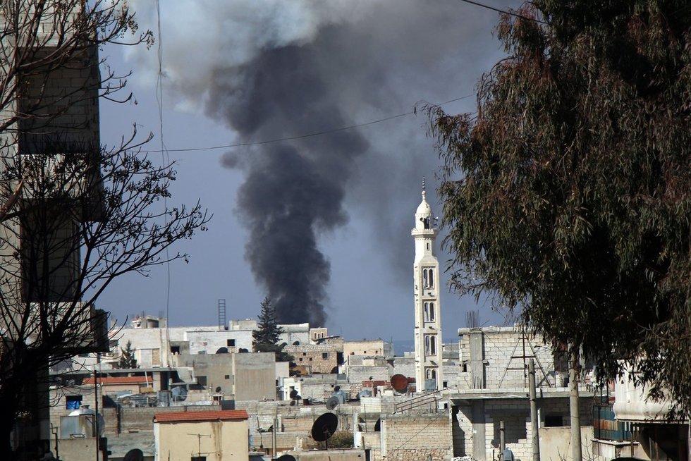 Rusija ir Sirija nužudė 33 Turkijos karius: šaukiamas skubus NATO pasitarimas (nuotr. SCANPIX)