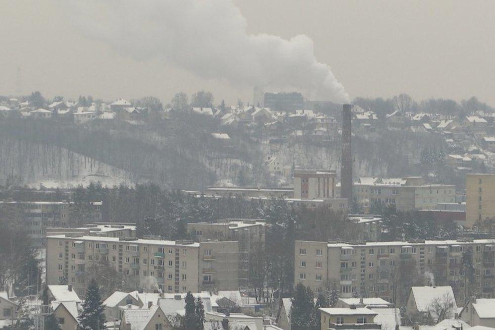 Lietuvoje padidėjo oro tarša: labiausiai kenčia didieji miestai (nuotr. stop kadras)