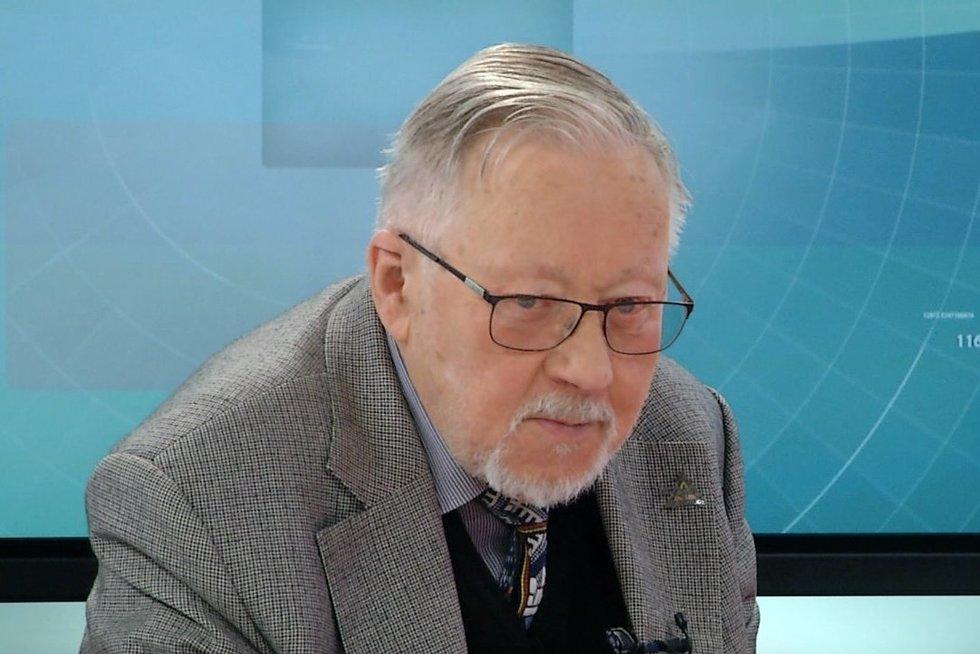 Prof. Vytautas Landsbergis (nuotr. TV3)