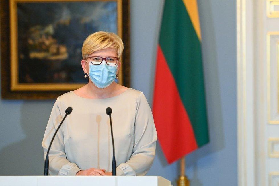 G. Nausėda patvirtino I. Šimonytės Vyriausybės sudėtį (nuotr. Roberto Dačkaus)