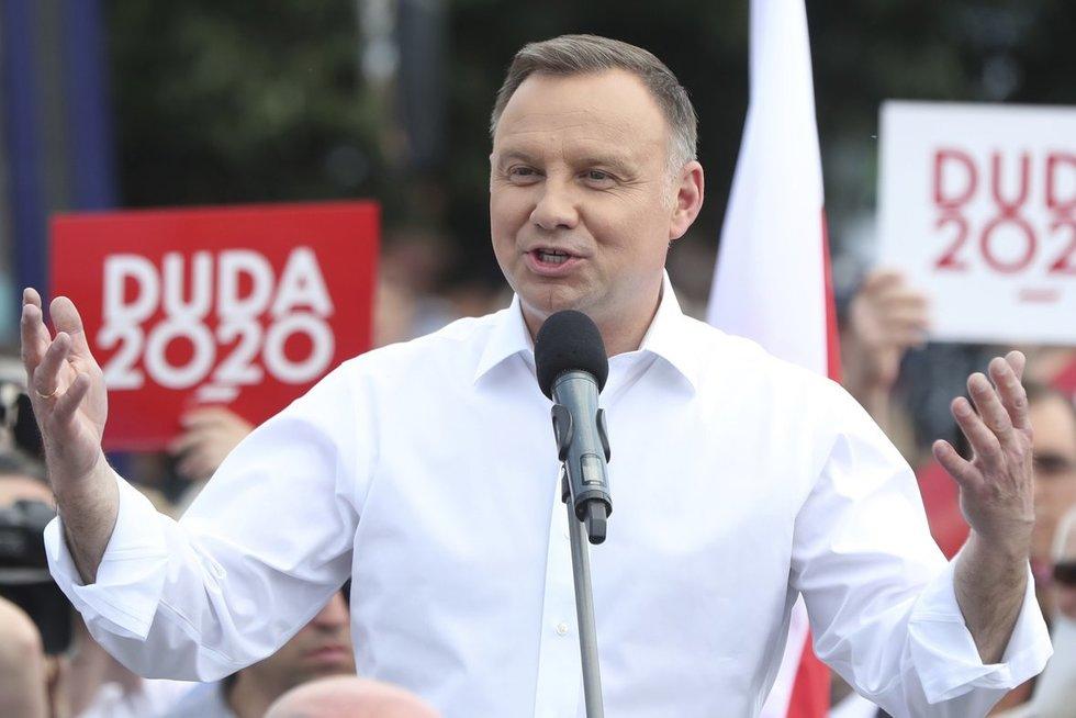 Andrzejus Duda (nuotr. SCANPIX)