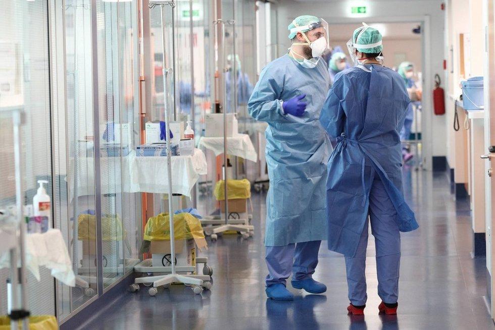 Italija atsidūrė koronaviruso gniaužtuose (nuotr. SCANPIX)