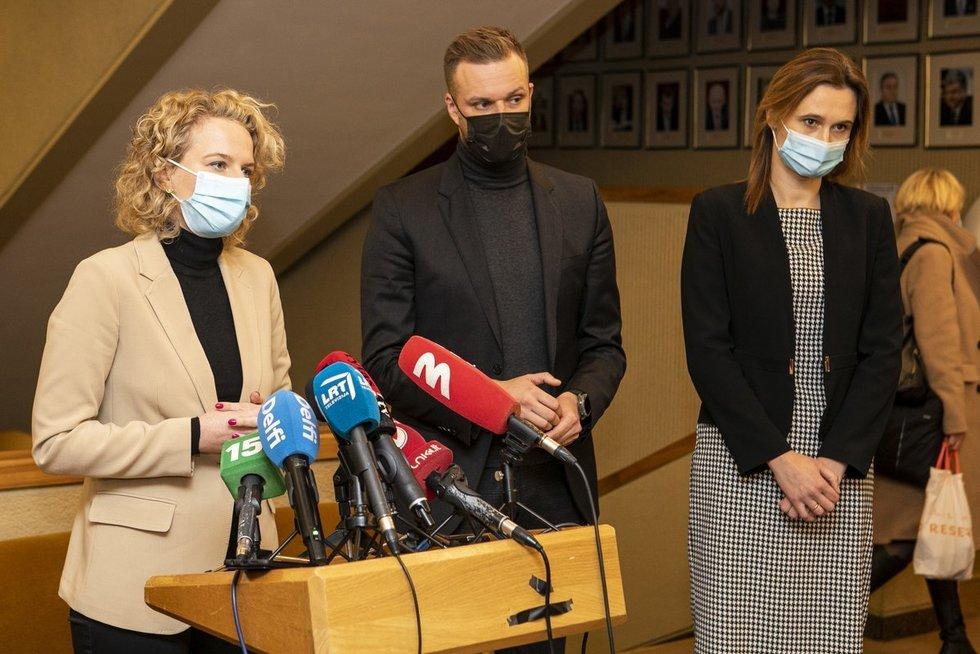 Partijos susitiko derėtis dėl koalicijos formavimo  (Paulius Peleckis/Fotobankas)