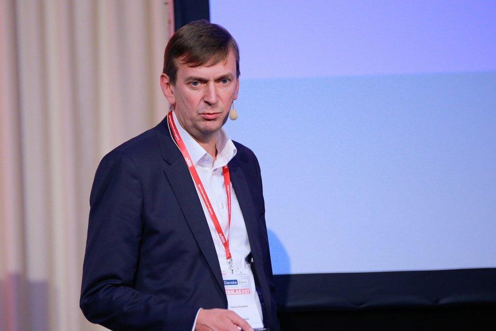 """Dainius Dundulis UAB """"Rivona"""" generalinis direktorius ir UAB """"Norfos mažmena"""" valdybos pirmininkas (nuotr. Danieliaus Masiulio)"""