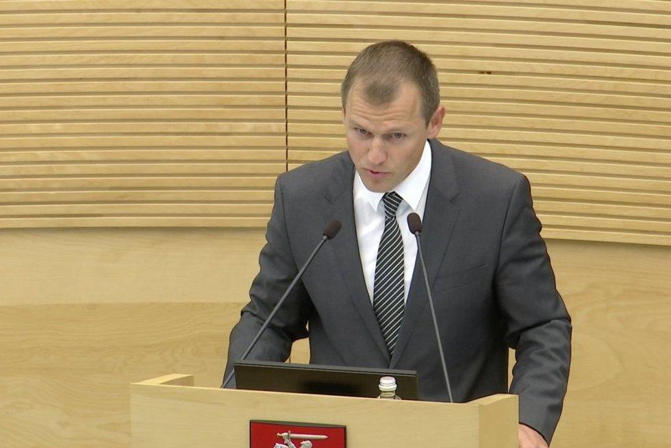 Advokatas M. Gūda (nuotr. stop kadras)