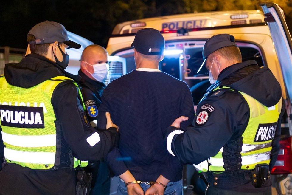 Policija. Asociatyvi nuotrauka (nuotr. Broniaus Jablonsko)