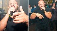 Ironvytas surengė vaizdo klipo pristatymo vakarėlį (nuotr.. Eimanto Genio)