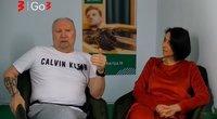 Aleksandras Ivanauskas-Fara ir Irena Starošaitė (nuotr. stop kadras)