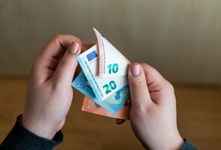 Pinigai (K. Polubinska/fotodiena.lt nuotr.)