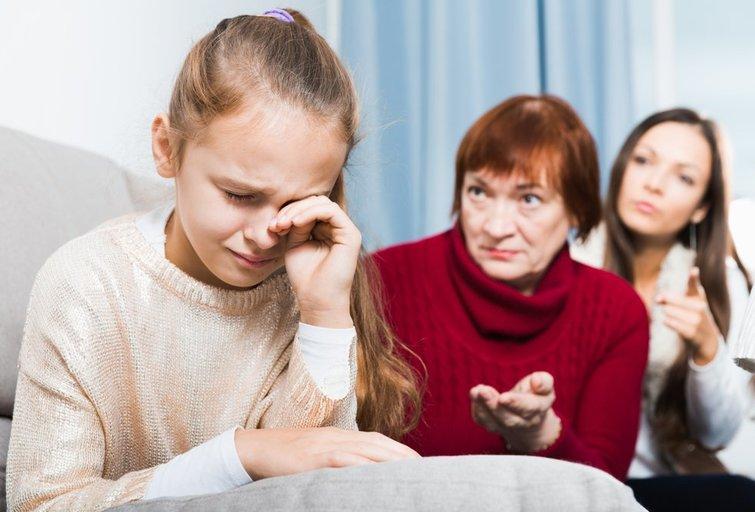 Verkianti dukra  (nuotr. Shutterstock.com)