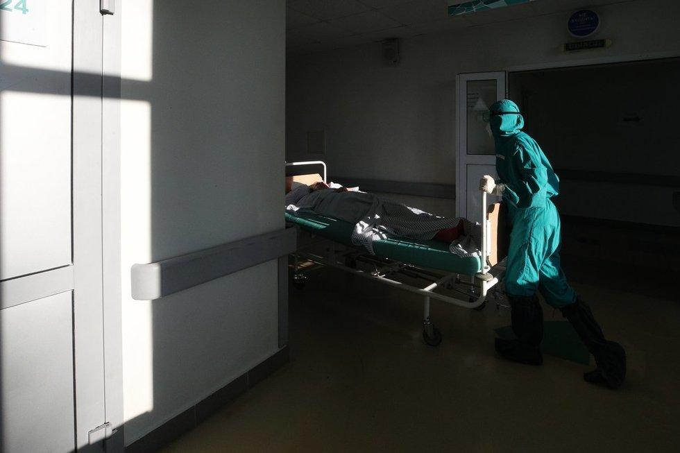 Koronaviruso gydymas ligoninėje