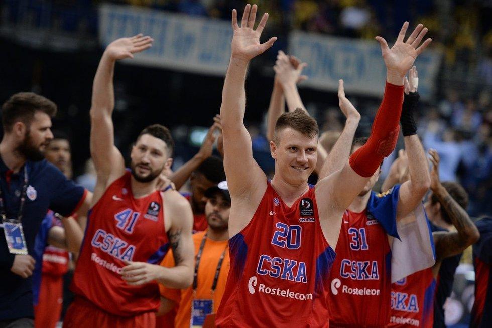 """""""CSKA""""krepšininkai (nuotr. SCANPIX)"""