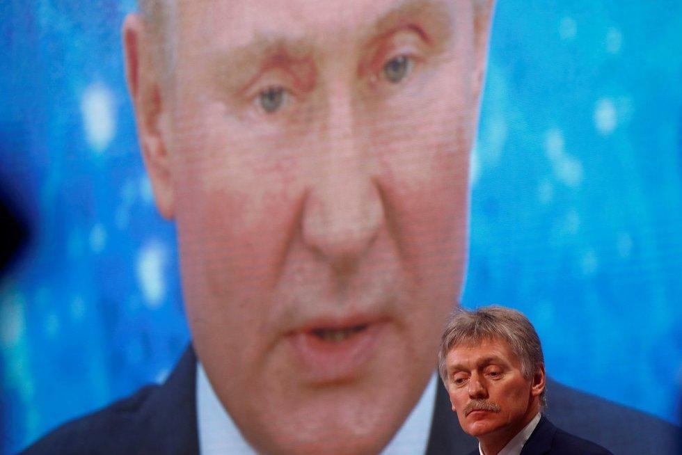 Kremliaus geopolitinis iššūkis Ukrainoje: blefuojantis Putinas ar gresiantis karas? (nuotr. SCANPIX)