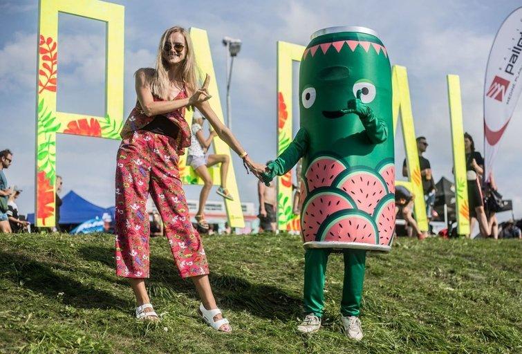 Vasaros festivalių lankytojai pramogas suderino su labdara ir nauda aplinkai (nuotr. Organizatorių)