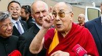 Tibeto dvasinis lyderis Dalai Lama atvyko į Lietuvą (nuotr. Tv3.lt/Ruslano Kondratjevo)