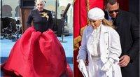 Lady Gaga ir Jennier Lopez (nuotr. SCANPIX)