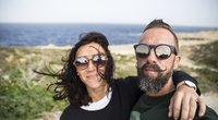 Linas Adomaitis su žmona Irma (nuotr. asm. archyvo)