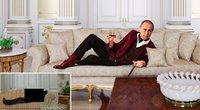 V. Putino fotomontažas dvare Gelendžike (nuotr. YouTube)