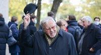 Profesorius Vytautas Landsbergis mini 88-ąją sukaktį. (nuotr. Fotodiena/Justino Auškelio)