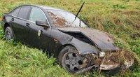 BMW vairuotojo avarija Vilniuje (nuotr. Broniaus Jablonsko)