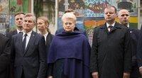 V. Pranckietis, D. Grybauskaitė, S. Skvernelis (nuotr. LRVK | Darius Janutis)