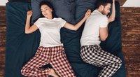 Miego poza (nuotr. Shutterstock.com)