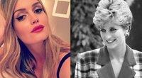 Lady Kitty Spencer ir princesė Diana (nuotr. Instagram)