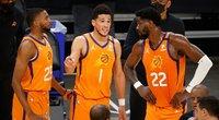"""Įspūdinga – varžovus nušlavusi """"Suns"""" suklydo vos tris kartus (nuotr. SCANPIX)"""