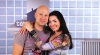 Algirdas Radzevičius su žmona (nuotr. TV3)