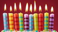 Gimtadienio žvakės (nuotr. 123rf.com)