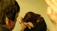 Smurtas šeimoje (nuotr. Akistatos) (nuotr. Balsas.lt)