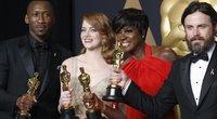 """Pagrindinių nominacijų """"Oskaruose"""" laimėtojai  (nuotr. Vida Press)"""