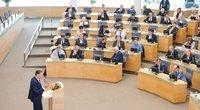 LR Seimo plenarinis posėdis dėl darbo kodekso. (nuotr. Fotodiena.lt)
