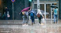 Lietus (nuotr. Fotodiena.lt/Eglė Mačiulskytė)
