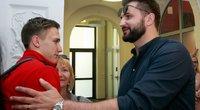 Jaunieji Eurolygos čempionai grįžo namo (nuotr. Tv3.lt/Ruslano Kondratjevo)