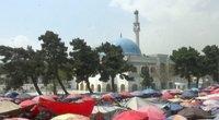Musulmonai pradeda Ramadaną: meldžia taikos (nuotr. stop kadras)