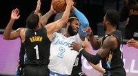 """""""Nets"""" ir """"Lakers"""" kovoje – išvytos žvaigždės ir čempionų triumfas (nuotr. SCANPIX)"""