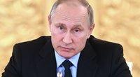 Vladimiras Putinas persigando: kažkas renka rusų biologinius duomenis ir ruošiasi išnaikinti (nuotr. SCANPIX)