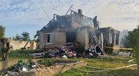 Radviliškio rajone įvyko sprogimas (nuotr. Egidijus Anglickis/TV3)