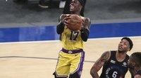 """""""Lakers"""" toliau persekioja traumos – neteko pagrindinio įžaidėjo (nuotr. SCANPIX)"""