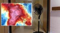 """""""Artėja pragaras"""": šią savaitę Europą siaubs rekordiniai karščiai (Accuweather nuotr.) (nuotr. SCANPIX) tv3.lt fotomontažas"""