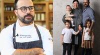 Gian Luca Demarco su šeima (tv3.lt fotomontažas)