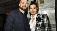 Justin Timberlake ir Jessica Biel (nuotr. SCANPIX)