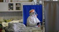 Koronaviruso paciento gydymas ligoninėje (nuotr. SCANPIX)