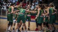 Lietuvos jaunių merginų rinktinė (nuotr. FIBA Europe)